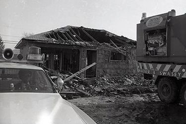 After the investigation, the home of John Wayne Gacy was demolished