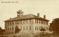 "1909 ""Post High School, Post, Texas"""