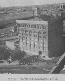 Rare angle of the Texas School Book Depository