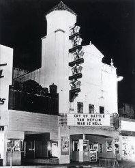 Texas Theater, where Oswald was captured, the day after the assassination