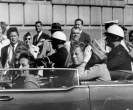 Kennedy moments before being shot
