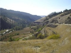 Ravine in Lewiston where bodies of Kristina and Jacqueline were found 1 1/2 years after their disappearance
