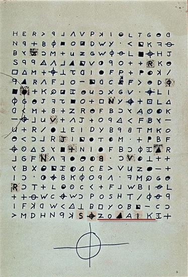 Zodiac's 340 cipher
