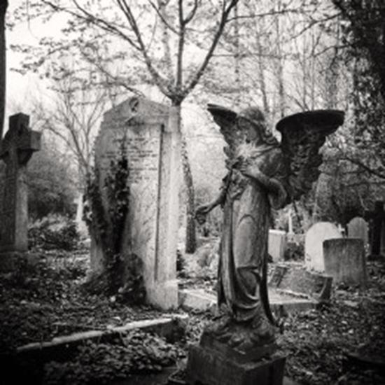 Highgate Cemetery in London