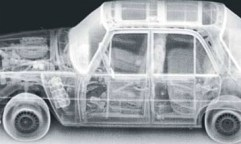 What backscatter X-Ray technology can see - inside a car