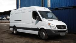 Z Backscatter X-Ray van at a loading dock