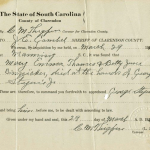 State of South Carolina coroner report for Mary Thames and Betty Binnicker