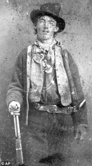 First known photo of Billy the Kid