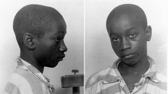 14-year-old George Stinney–youngest person ever executed in the U.S.–required a booster seat in the electric chair
