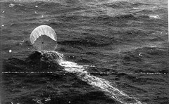 Japanese Fire Balloon in the Pacific ocean