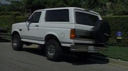 OJ Simpson's white Bronco