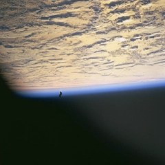 Black Knight Satellite photographed from Space Shuttle