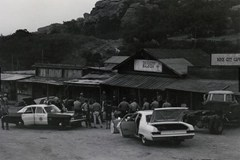 Spahn Ranch during a raid on the Manson Family (for auto theft)