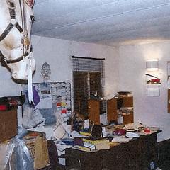 """Robert Pickton's office - """"a pigsty"""""""