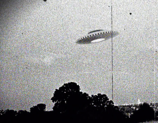 UFO over Westall Scondary College in Melbourne, Victoria, Australia