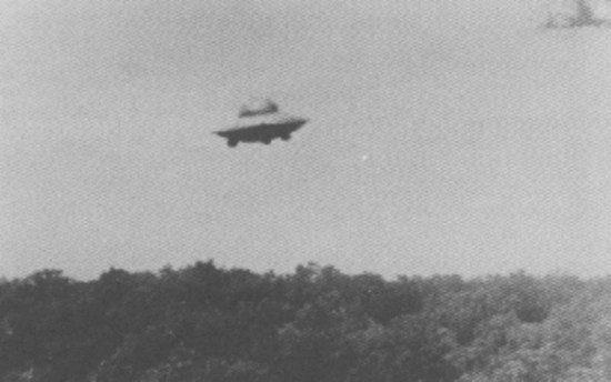 UFO over Woonsocket, Rhode Island taken by Harold Trudel