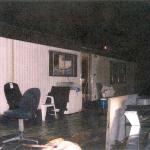 The outside of Robert Pickton's trailer house