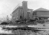 Damage to Fire House No. 31 from the Great Molasses Flood of 1919