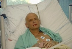 Alexander Litvinenko dying from polonium-210 radiation poisoning - Steele determined it was a Russian state-sponsored hit