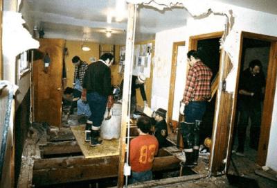 Crime scene photos show excavation of crawl space beneath serial kill John Wayne Gacey's home