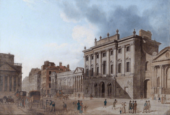 Bank of England circa 1800