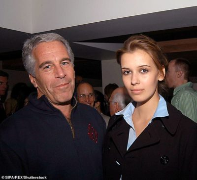 Adriana Ross (Mucinska) and Jeffrey Epstein