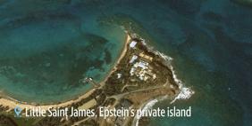 Jeffrey Epstein's Little Saint James private island