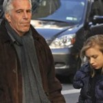 Jeffrey Epstein with young girl
