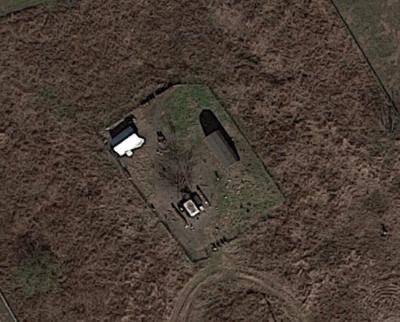 Property 1300 King Cotton Road Venus aerial view