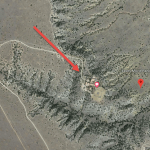 Jeffrey Epstein New Mexico Ranch - satellite view close