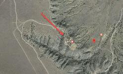 Jeffrey Epstein New Mexico Ranch - satellite view close
