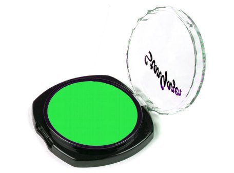 Flourescent Eye Shadow - Forest Green