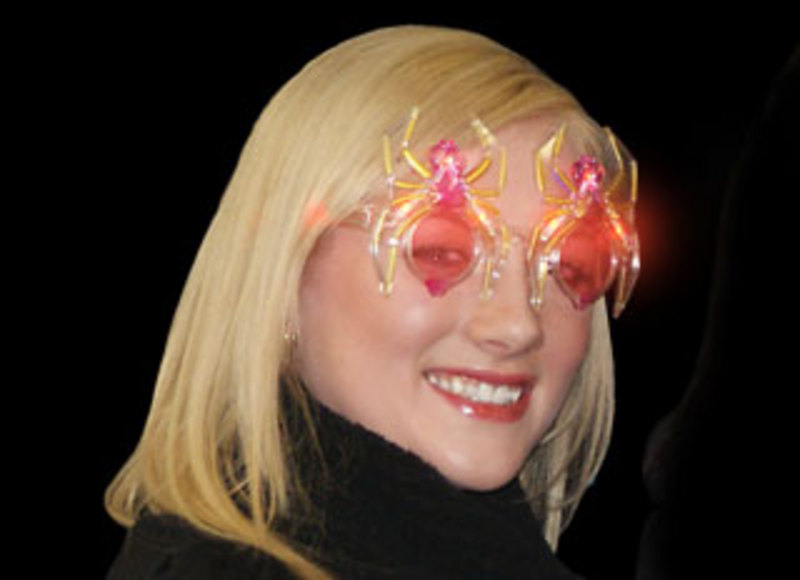 Light Up Spider Glasses