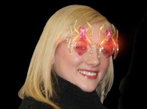 Light Up Spider Glasses