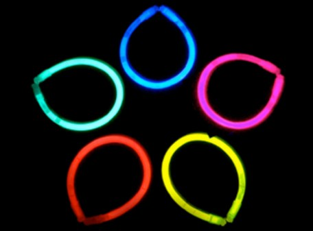 Glow Bracelets - Assorted Colours