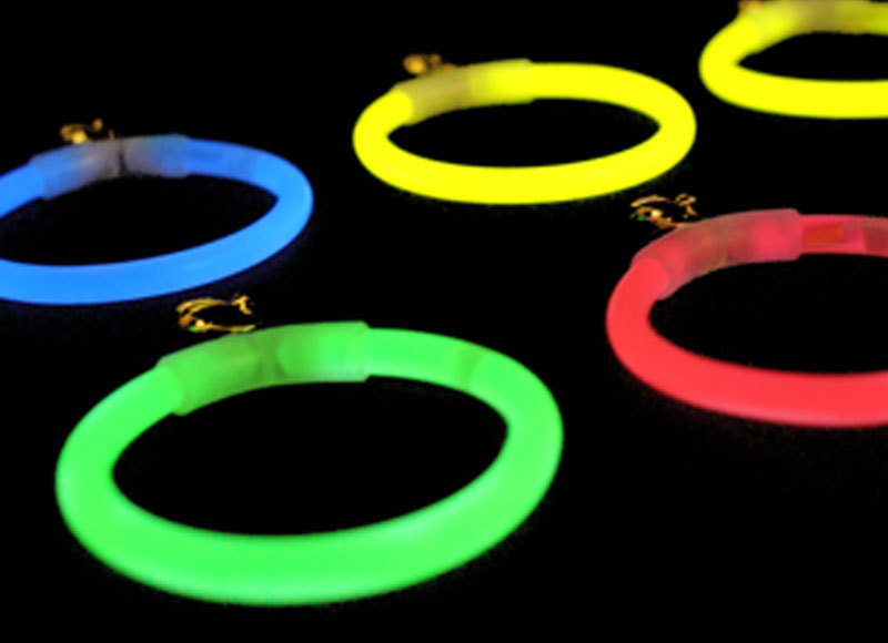 Glow Stick Earrings - Assorted Colours