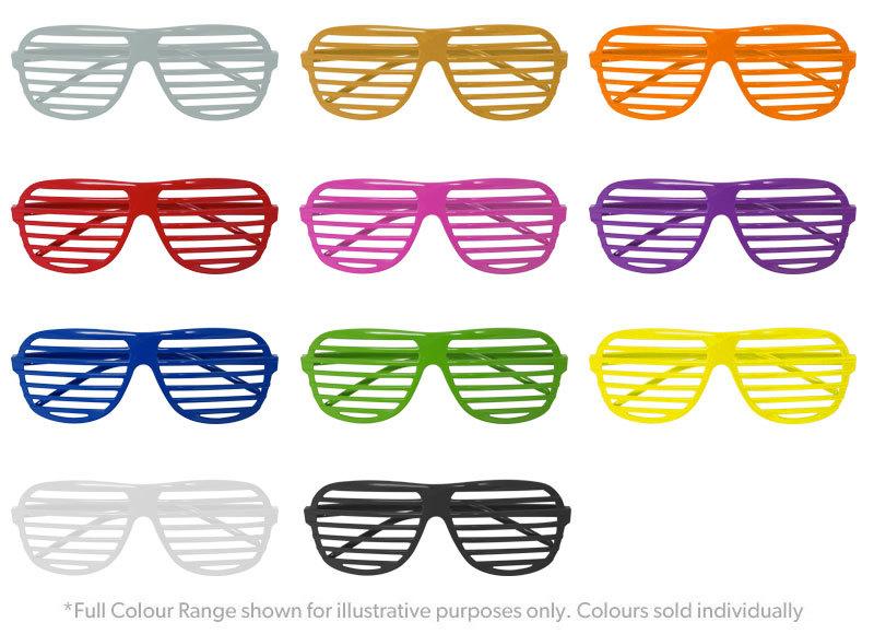 Shutter Shades - Various Colours