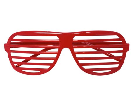 Red Shutter Shades