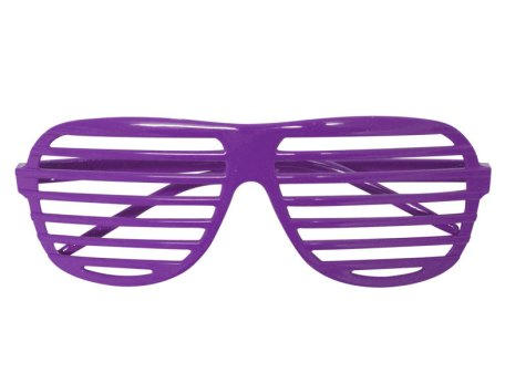 Purple Shutter Shades