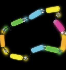 Glow Charm Necklace- Multi Colour