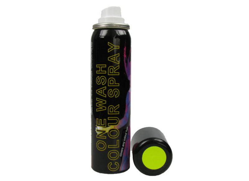 Colour Spray for Hair & Wigs - Yellow