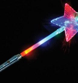 Giant Flashing Star Wand