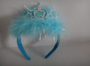 Light Up Blue Princess Tiara
