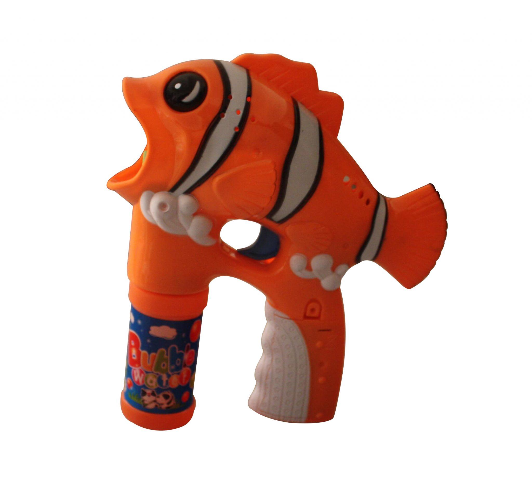 Orange Clownfish Bubble Gun