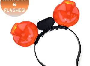 Light Up Pumpkin Headboppers