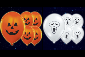 Win a free pack of 10 Light Up Halloween Balloons