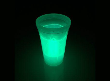 Glow Shot Glass - Green
