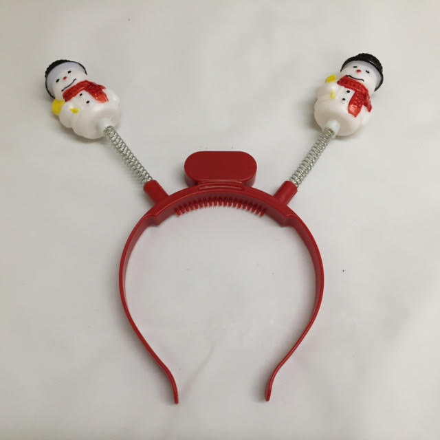 Light-Up Snowman Boppers