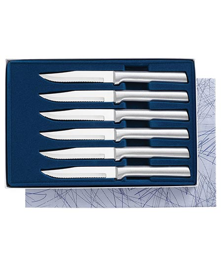 10. Rada Cutlery 6-piece Serrated Steak Knives