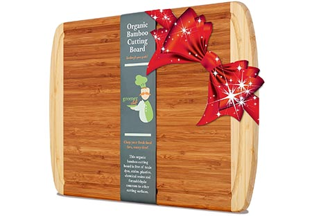 5. Best ORGANIC Bamboo Cutting Board
